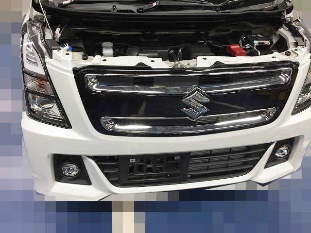 新型ワゴンRスティングレー(NH55S)のホーン交換の方法