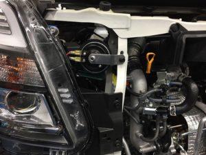 ワゴンRスティングレーMH55Sのホーン交換右側