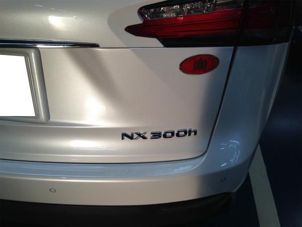 レクサスNX300hのアクセサリー電源|ドライブレコーダー、レーダーに