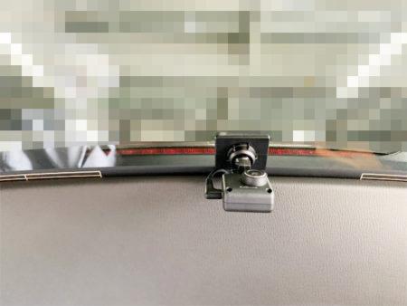 CX-5リアドライブレコーダー取り付け位置
