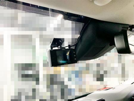 CX-5フロントドライブレコーダー取り付け位置
