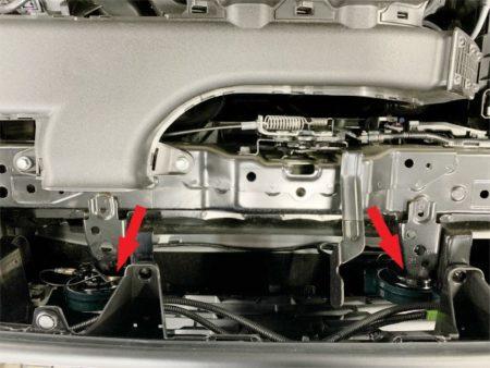 トヨタRAV4のホーン交換方法