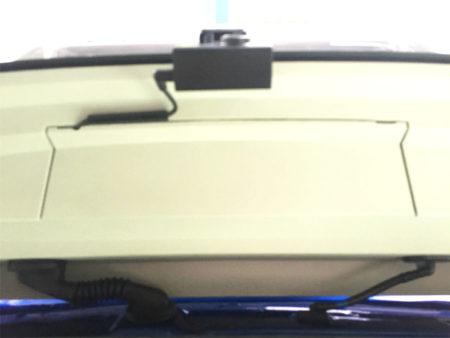 キャストリアドライブレコーダー取り付け位置
